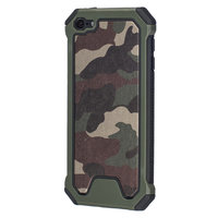 Leger survivor TPU hardcase iPod Touch 5 6 7 hoesje case cover army camo groen