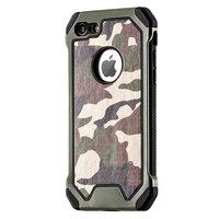 Leger Survivor TPU hardcase iPhone 7 hoesje case cover camo army groen