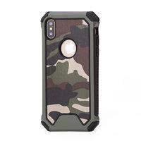 Leger Survivor TPU hardcase iPhone X hoesje case cover groen camo army