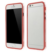 Rood bumper hoesje iPhone 6 6s case