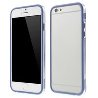 Blauw bumper hoesje iPhone 6 6s case