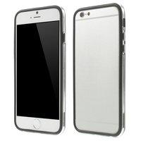 Zwart bumper hoesje iPhone 6 6s case