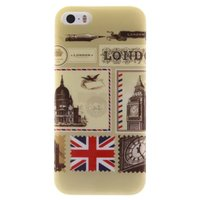 London British Engeland TPU iPhone 5 hoesje case