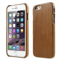 Natuurlijk houten iPhone 6 6s hardcase hoesje cover echt hout wood
