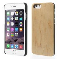 Kersenhouten hardcase iPhone 6 6s cover hoesje echt hout