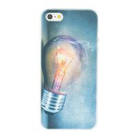 Gloeilamp iPhone 5 5s SE TPU case cover - Industrieel Lightbulb hoesje