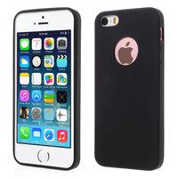 Silicone hoesje iPhone 5 5s SE zwarte case