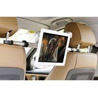 Universele iPad tablethouder voor in de auto hoofdsteunklem - 360 graden draaibaar Aluminium