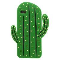 3D cactus hoesje silicone iPhone 6 Plus 6s Plus - Groen