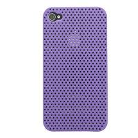 Mesh iPhone 4 4S Case gaatjes hoesje hardcase - Paars