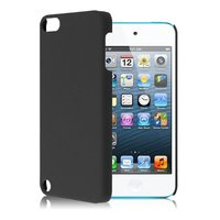 iPod Touch 5 6 7 hard hoesje hoes hardcase beschermhoes case - Zwart