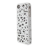 iPhone 4 4s vogelnest hoesje cover case bird nest ontwerp - Wit