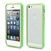 Bumper hoesje iPhone 5 5s en iPhone SE Case cover - Groen