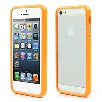 Bumper hoesje iPhone 5 5s en iPhone SE Case cover - Oranje