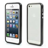 Bumper hoesje iPhone 5 5s en iPhone SE Case cover - Zwart