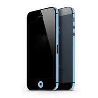 Bumper sticker iPhone 5 5s SE 2016 Decor Color Edge Skin - Lichtblauw