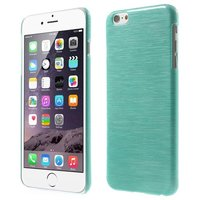 Brushed hardcase hoesje iPhone 6 6s - Blauw