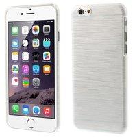 Brushed hardcase hoesje iPhone 6 6s - Wit