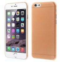 Ultra dunne, stevige 0.3 mm dikke iPhone 6 6s hoesjes - Oranje