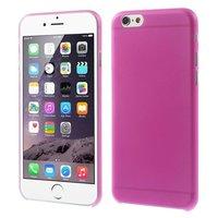 Ultra dunne, stevige 0.3 mm dikke iPhone 6 6s hoesjes - Roze