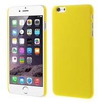 Stevige gekleurde hardcase iPhone 6 Plus 6s Plus Hoesje - Geel