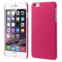 Stevige gekleurde hardcase iPhone 6 Plus 6s Plus Hoesje - Roze