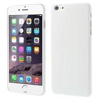 Stevige gekleurde hardcase iPhone 6 Plus 6s Plus Hoesje - Wit