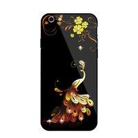 NXE Phoenix iPhone 6 6s hybride TPU PC case - Kristallen Zwart