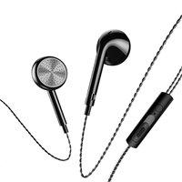 USAMS SJ190 oordopjes mic - Zwart