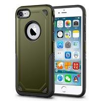 Shockproof hoesje Pro Armor iPhone 7 - Protection Case Groen - Extra Bescherming