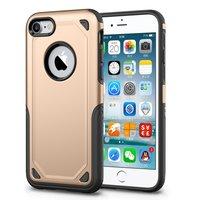 Shockproof hoesje Pro Armor iPhone 7 - Protection Case Goud - Extra Bescherming