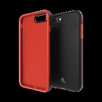 Adidas Solo Case iPhone 6 Plus 6s Plus 7 Plus 8 Plus - Zwart Rood