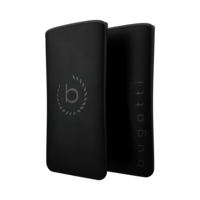 Bugatti Neopreen universeel insteekhoesje iPhone 6 6s 7 8 - Zwart Grijs