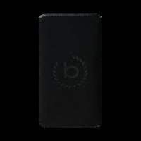 Bugatti Neopreen Universeel insteekhoesje iPhone 6 Plus 6s Plus 7 Plus 8 Plus - Zwart