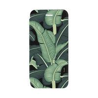 FLAVR Adour Case bananenbladeren hoesje pasjeshouder iPhone 6 6s 7 8 - Groen