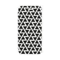 FLAVR Adour Case zigzag geometrisch hoesje iPhone 6 6s 7 8 - Zwart Wit