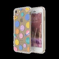 FLAVR iPlate vrolijke planeten hoesje iPhone 6 6s 7 8 - kleurrijk