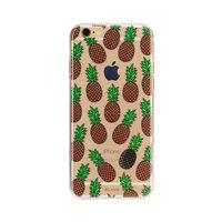 FLAVR iPlate ananas fruit hoesje iPhone 6 6s - Geel Groen