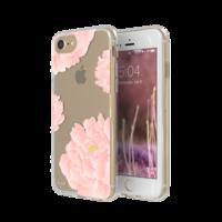FLAVR iPlate pioenrozen bloemen hoesje iPhone 6 6s 7 8 - Lichtroze