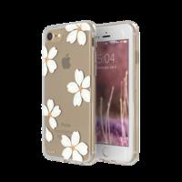 FLAVR iPlate bloemen kroonbladeren iPhone 6 6s 7 8 - Wit