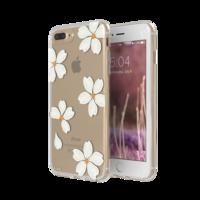 FLAVR iPlate bloemen kroonbladeren hoesje iPhone 6 Plus 6s Plus 7 Plus 8 Plus - Wit
