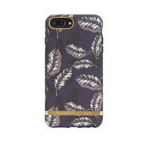 Richmond & Finch iPhone 6 Plus 6s Plus 7 Plus 8 Plus hoesje - Bladeren Blauw Case