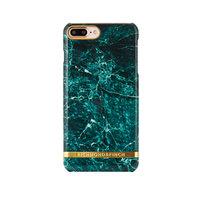 Richmond & Finch Marble Glossy iPhone 7 Plus 8 Plus Groen hoesje - Green Case