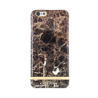 Richmond & Finch Marble iPhone 6 6s Bruin Hoesje - Brown Case