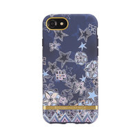 Richmond & Finch Super Star - iPhone 6 6s 7 8 Blauw hoesje - Blue Case