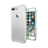Spigen Neo Hybrid Crystal iPhone 7 Plus 8 Plus hoesje - Green Yellow Case