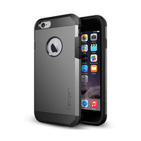 Spigen Tough Armor iPhone 6 6s grijs hoesje - Gray Case