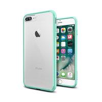 Spigen Ultra Hybrid iPhone 7 Plus 8 Plus groen hoesje - Mint Green Case