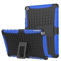 Survivor hoes bescherming standaard iPad 2017 2018 - Blauw Zwart