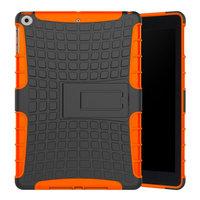 Survivor hoes standaard bescherming iPad 2017 2018 - Oranje Zwart